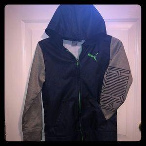 Puma zip up hooded jacket